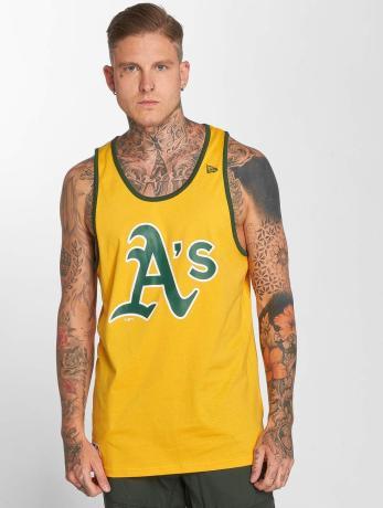 new-era-manner-tank-tops-team-apparel-oakland-athletics-in-gelb