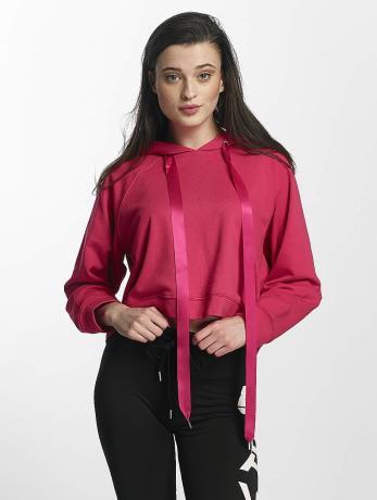 sixth-june-frauen-hoody-cropped-sweat-in-pink