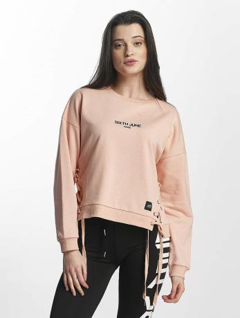 sixth-june-frauen-pullover-lace-in-rosa