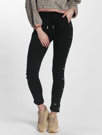 sixth-june-frauen-jogginghose-lace-in-schwarz