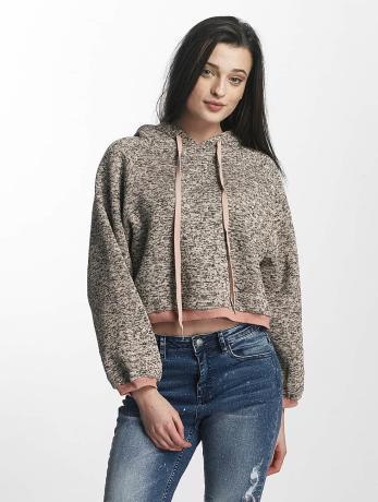 sixth-june-frauen-hoody-knit-soft-in-rosa