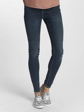 vero-moda-frauen-slim-fit-jeans-vmseven-super-slim-in-blau