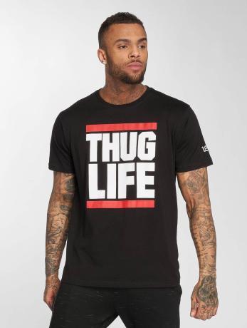 thug-life-manner-t-shirt-b-fight-in-schwarz