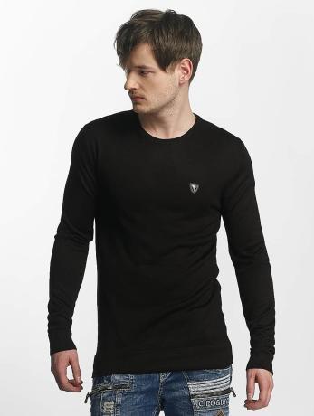 cipo-baxx-manner-pullover-basic-in-schwarz