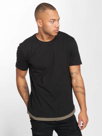 def-manner-t-shirt-basic-in-schwarz