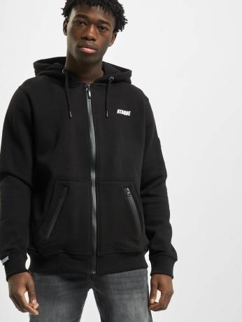 ataque-manner-zip-hoodie-gijon-in-schwarz