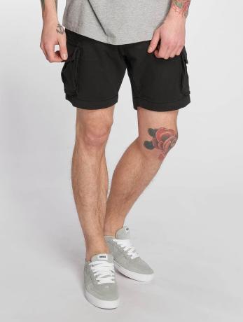 reell-jeans-manner-shorts-city-cargo-in-schwarz
