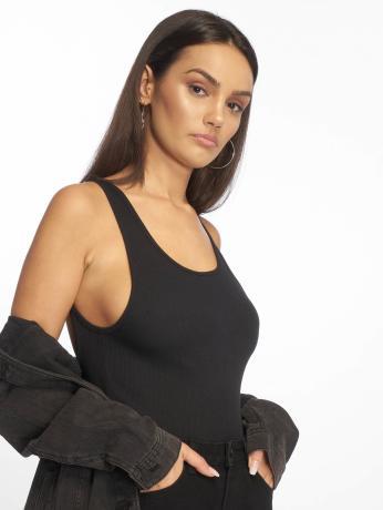 urban-classics-frauen-body-stretch-rib-in-schwarz