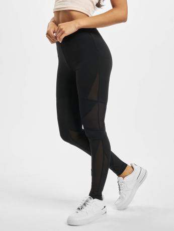 urban-classics-frauen-sport-legging-triangle-tech-mesh-in-schwarz