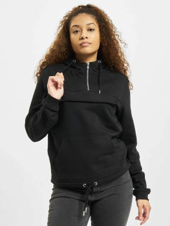 urban-classics-frauen-hoody-chillomillo-in-schwarz