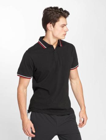 urban-classics-manner-poloshirt-double-stripe-in-schwarz