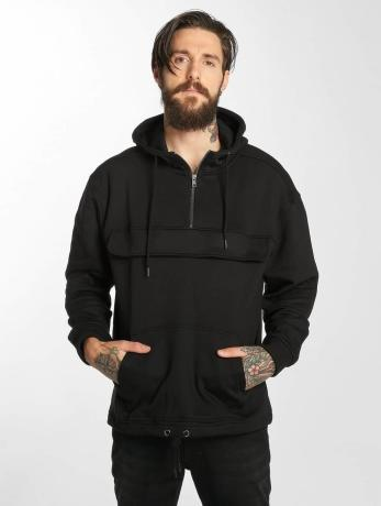 urban-classics-manner-hoody-sweat-in-schwarz