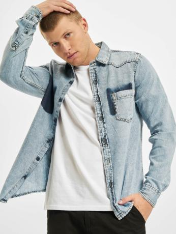 urban-classics-manner-hemd-denim-pocket-in-blau