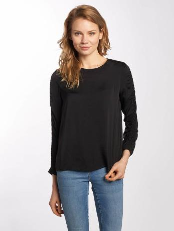 noisy-may-frauen-bluse-nmfast-3-4-smock-in-schwarz