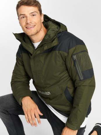 columbia-manner-winterjacke-challenger-pullover-in-olive