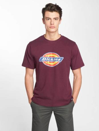 dickies-manner-t-shirt-horseshoe-in-rot