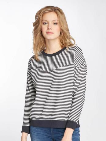 sublevel-frauen-pullover-striped-in-blau