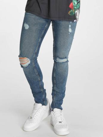 criminal-damage-manner-skinny-jeans-curtis-in-blau