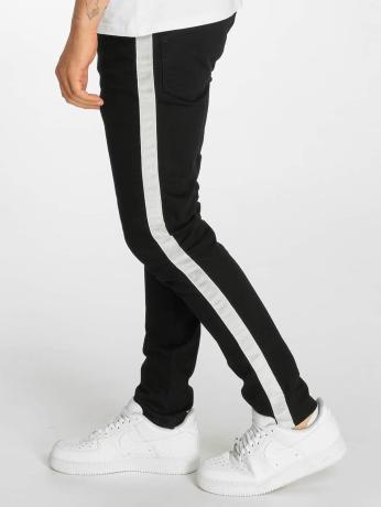 criminal-damage-manner-skinny-jeans-tape-in-schwarz