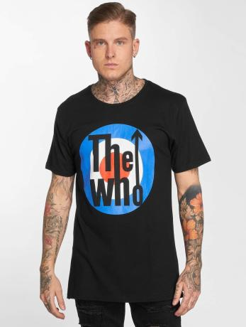 merchcode-manner-t-shirt-the-who-classic-target-in-schwarz