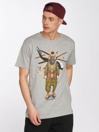 merchcode-manner-t-shirt-petsrock-fool-in-grau