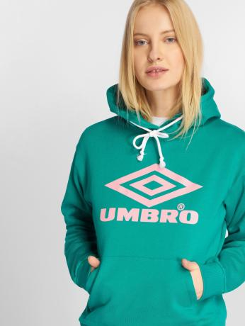 umbro-frauen-hoody-logo-in-grun