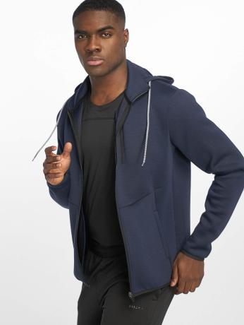 def-sports-manner-zip-hoodie-bizier-in-blau