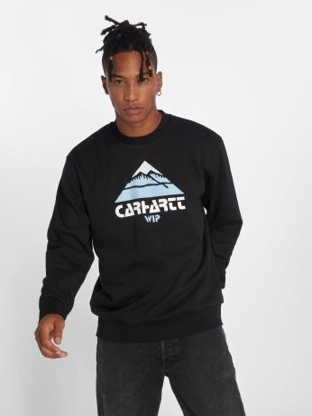 carhartt-wip-manner-pullover-mountain-sweat-in-schwarz