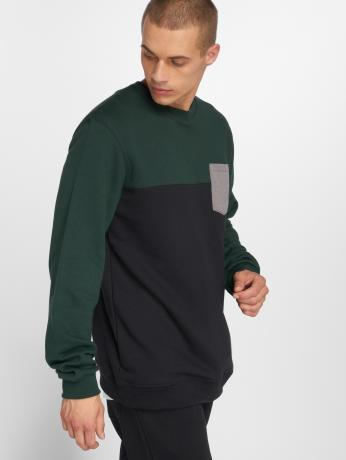 iriedaily-manner-pullover-block-in-schwarz