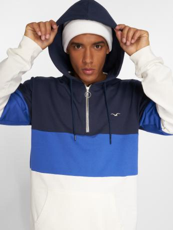 cleptomanicx-manner-hoody-deck-stripe-in-blau