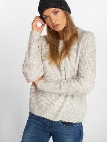 noisy-may-frauen-pullover-nmelvitta-in-grau