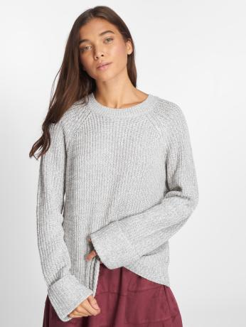 noisy-may-frauen-pullover-nmsiesta-in-grau