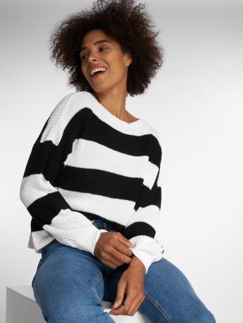 only-frauen-pullover-onlcampos-in-schwarz
