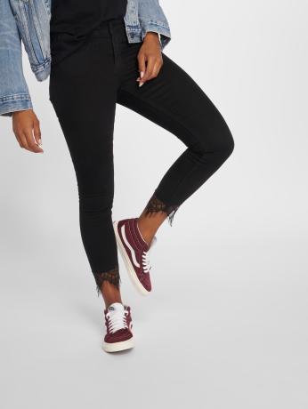 only-frauen-skinny-jeans-onlcarmen-in-schwarz