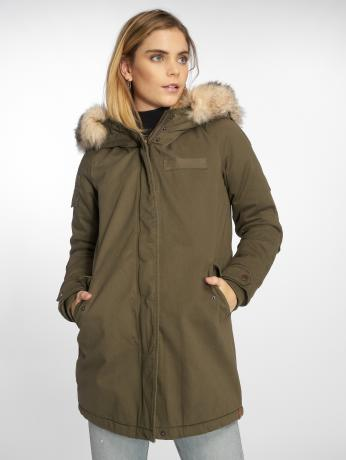 only-frauen-parka-onlmay-in-olive