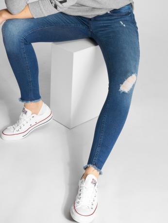 only-frauen-skinny-jeans-onlblush-ankle-in-blau