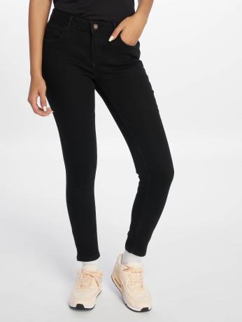 only-frauen-skinny-jeans-onldaisy-pushup-ankle-in-schwarz