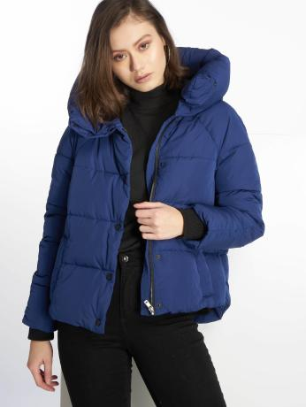 only-frauen-puffer-jacket-onlmari-padded-in-blau
