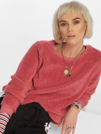 only-frauen-pullover-onlellie-in-rosa