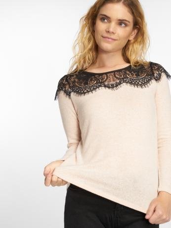 only-frauen-pullover-onlidaho-in-rosa