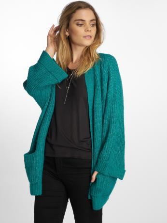 noisy-may-frauen-strickjacke-nmgerda-knit-in-turkis