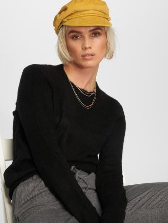 noisy-may-frauen-pullover-nmhellen-in-schwarz