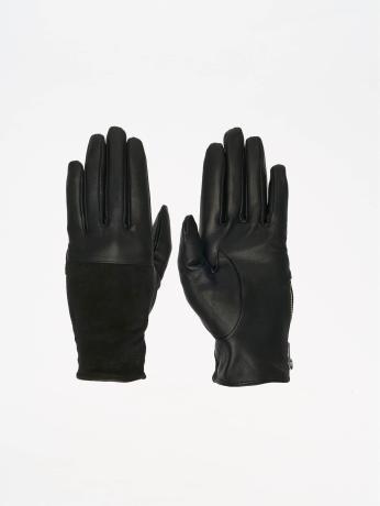 pieces-frauen-handschuhe-pcfan-in-schwarz