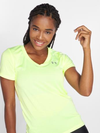 under-armour-frauen-sportshirts-women-s-ua-tech-in-gelb