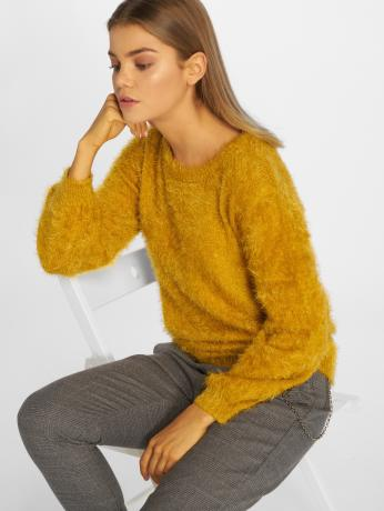 blend-she-frauen-pullover-fentis-r-pu-in-gelb