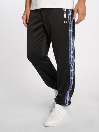 champion-athletics-manner-jogginghose-athleisure-elastic-cuff-in-schwarz