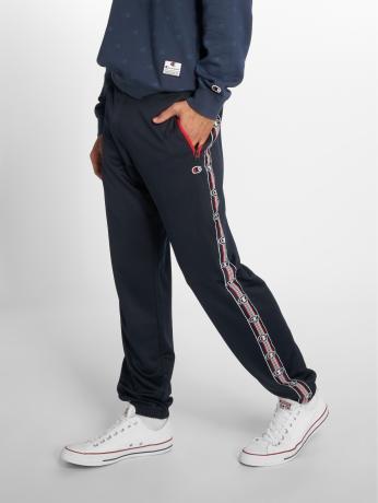 champion-athletics-manner-jogginghose-athleisure-elastic-cuff-in-blau