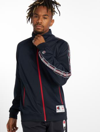 champion-athletics-manner-ubergangsjacke-athleisure-in-blau