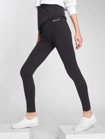 champion-athletics-frauen-legging-american-classics-in-schwarz