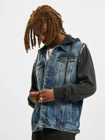 vsct-clubwear-manner-jeansjacken-hybrid-denim-in-blau